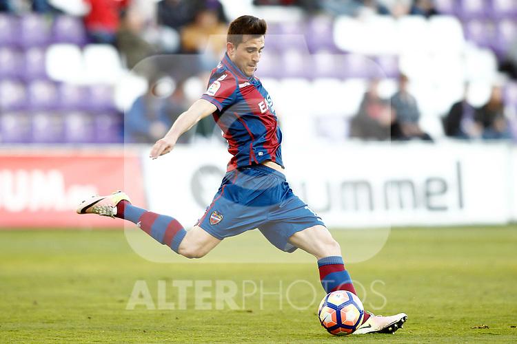 Levante UD's Sergio Postigo during La Liga Second Division match. March 11,2017. (ALTERPHOTOS/Acero)