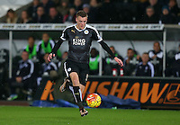 Jamie Vardy of Leicester City during the Barclays Premier League match between Swansea City and Leicester City played at The Liberty Stadium on 5th December 2015