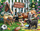 Liz,REALISTIC ANIMALS,puppies,dogs, REALISTISCHE TIERE, ANIMALES REALISTICOS, LizDillon, paintings+++++,USHCLD0341,#A#, EVERYDAY