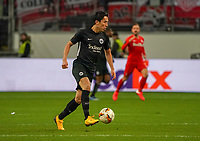 Makoto Hasebe (Eintracht Frankfurt) - 20.02.2020: Eintracht Frankfurt vs. RB Salzburg, UEFA Europa League, Hinspiel Round of 32, Commerzbank Arena DISCLAIMER: DFL regulations prohibit any use of photographs as image sequences and/or quasi-video.