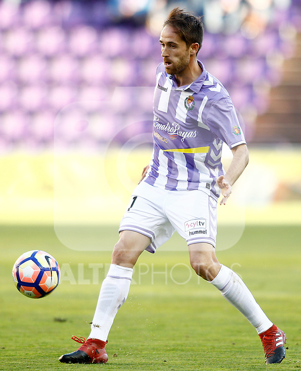 Real Valladolid's Michel Herrero during La Liga Second Division match. March 11,2017. (ALTERPHOTOS/Acero)