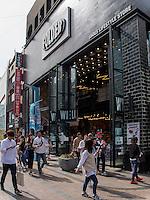 Geschäft in Nampo-dong, Busan, Gyeongsangnam-do, Südkorea, Asien<br /> shop in Nampo-dong, Busan,  province Gyeongsangnam-do, South Korea, Asia