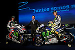 Movistar Yamaha MotoGP host 2015 team launch in Madrid. In the pic: Jorge Lorenzo and Valentino Rossi. January 28, 2015. (ALTERPHOTOS/Caro Marin)