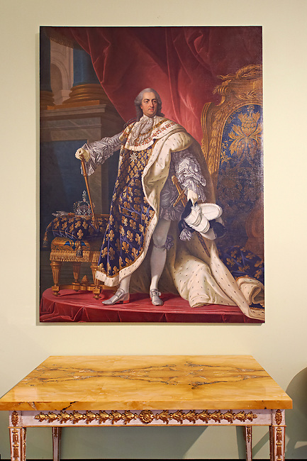 Portrait of Ferdinand II of Bourbon, King of the Two Sicilies, by F. Martorelli dated 1844. The Kings of Naples Royal Palace of Caserta, Italy. A UNESCO World Heritage Site