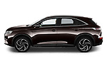Car Driver side profile view of a 2021 Ds DS-7-Crossback Rivoli 5 Door SUV Side View