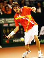 21-9-07, Netherlands, Rotterdam, Daviscup NL-Portugal, Robin Haase