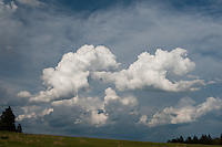 Clouds, Devils Tower National Monument.