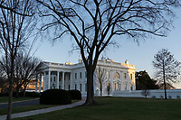 The White House in Washington, DC, January 13, 2021 after the U.S. House of Representatives voted to impeach U.S. President Donald Trump. Credit: Chris Kleponis / Pool via CNP /MediaPunch