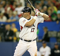 March 7, 2009:  Right Fielder Adam Dunn (17) of Team USA during the first round of the World Baseball Classic at the Rogers Centre in Toronto, Ontario, Canada.  Team USA defeated Canada 6-5 in both teams opening game of the tournament.  Photo by:  Mike Janes/Four Seam Images