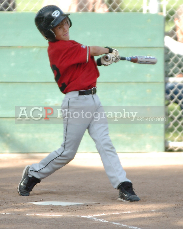 The Pleasanton National Little League Major Diamondbacks beat the Cardinals 6-2  in Pleasanton, California June 10, 2009..