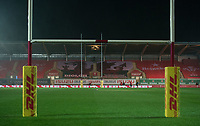 A general view of Parc y Scarlets <br /> <br /> Photographer Ian Cook/CameraSport<br /> <br /> 2020 Autumn Nations Cup - Wales v Georgia - Saturday 21st November 2020 - Parc y Scarlets - Llanelli - Wales<br /> <br /> World Copyright © 2020 CameraSport. All rights reserved. 43 Linden Ave. Countesthorpe. Leicester. England. LE8 5PG - Tel: +44 (0) 116 277 4147 - admin@camerasport.com - www.camerasport.com