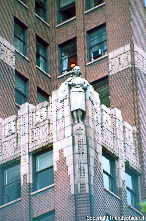 Vancouver: Georgia Medical-Dental Building--Nurse. McCarter & Nairn, 1929.  Photo '86. Note: demolished in 1989 as not earthquake safe.