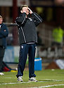 23/03/2010 Copyright  Pic : James Stewart.sct_jspa18_dundee_v_qots  .::  DUNDEE MANAGER GORDON CHISHOLM   ::  .James Stewart Photography 19 Carronlea Drive, Falkirk. FK2 8DN      Vat Reg No. 607 6932 25.Telephone      : +44 (0)1324 570291 .Mobile              : +44 (0)7721 416997.E-mail  :  jim@jspa.co.uk.If you require further information then contact Jim Stewart on any of the numbers above.........