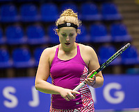 Rotterdam,Netherlands, December 15, 2015,  Topsport Centrum, Lotto NK Tennis, Nikki Luttikhuis (NED)<br /> Photo: Tennisimages/Henk Koster
