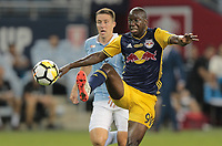 Kansas City, KS - Wednesday September 20, 2017: Bradley Wright-Phillips during the 2017 U.S. Open Cup Final Championship game between Sporting Kansas City and the New York Red Bulls at Children's Mercy Park.