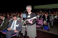 Montreal (qc) CANADA - file Photo - 1992 - <br /> <br /> <br /> 'Union des Municipalites du Quebec convention in April - Andree Boucher, Mayor Sainte-Foy