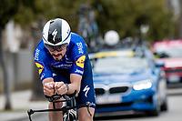 Julian Alaphilippe (FRA/Deceuninck - QuickStep)<br /> <br /> Final stage 7 (ITT) from San Benedetto del Tronto to San Benedetto del Tronto (10.1km)<br /> <br /> 56th Tirreno-Adriatico 2021 (2.UWT) <br /> <br /> ©kramon