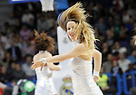 Real Madrid's cheerleaders during Euroleague match.March 12,2015. (ALTERPHOTOS/Acero)