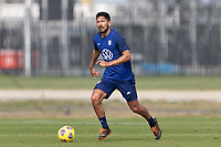 BRADENTON, FL - JANUARY 23: Mauricio Pineda moves with the ball during a training session at IMG Academy on January 23, 2021 in Bradenton, Florida.