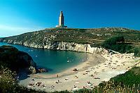 Spanien, Galicien, La Coruña, römischer Herkulesturm, Unesco-Weltkulturerbe