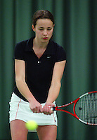 10-3-06, Netherlands, tennis, Rotterdam, National indoor junior tennis championchips, Carmen Pop