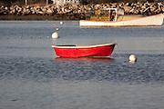 Rye Harbor at sunrise. Located in Rye, New Hampshire USA.