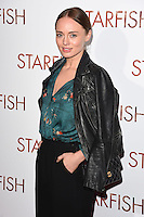 "Laura Haddock<br /> at the ""Starfish"" UK premiere, Curzon Mayfair, London.<br /> <br /> <br /> ©Ash Knotek  D3190  27/10/2016"