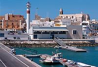 Spanien, Andalusien, Hafen von Rota