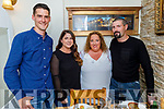 Sean and Noelle Hegarty, Lorraine and Maurice McElligott enjoying the evening in Bella Bia on Sunday.