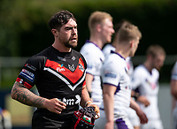 Matty Fozard of London Broncos during the Betfred Championship match between London Broncos and Newcastle Thunder at The Rock, Rosslyn Park, London, England on 9 May 2021. Photo by Liam McAvoy.
