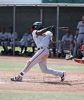 Jacob Heyward - San Francisco Giants 2019 spring training (Bill Mitchell)