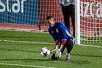 Spainsh Sergio Asenjo during the training of the spanish national football team in the city of football of Las Rozas in Madrid, Spain. November 08, 2016. (ALTERPHOTOS/Rodrigo Jimenez)