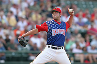 Rochester Red Wings Matt Ford during an International League game at Frontier Field on July 4, 2006 in Rochester, New York.  (Mike Janes/Four Seam Images)