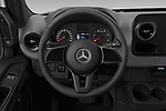 Car pictures of steering wheel view of a 2019 Mercedes Benz Sprinter-Crew-Van Base 4 Door Combi