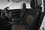Front seat view of 2017 Mitsubishi Outlander-Sport ES-AWC 5 Door SUV Front Seat  car photos