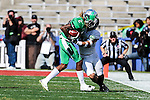 North Texas Mean Green wide receiver O'Keeron Rutherford (2) in action during the Zaxby's Heart of Dallas Bowl game between the Army Black Knights and the North Texas Mean Green at the Cotton Bowl Stadium in Dallas, Texas.