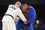 Tony Walby, London 2012 - Para Judo // Parajudo.<br /> Tony Walby competes in the quarter final of the +100kg category // Tony Walby participe au quatre-finale de la catégorie +100kg. 09/01/2012.