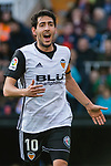 Daniel Parejo Munoz of Valencia CF reacts during the La Liga 2017-18 match between Valencia CF and Real Madrid at Estadio de Mestalla  on 27 January 2018 in Valencia, Spain. Photo by Maria Jose Segovia Carmona / Power Sport Images