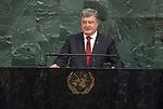 72 General Debate – 20 September <br /> <br /> <br /> His Excellency Petro Poroshenko, President of Ukraine