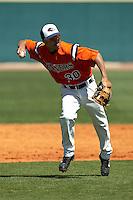 SAN ANTONIO, TX - MARCH 29, 2009: The Texas A&M University Corpus Christi Islanders vs. The University of Texas at San Antonio Roadrunners Baseball at Roadrunner Field. (Photo by Jeff Huehn)