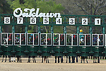 April 11, 2015: Starting gate for the Arkansas Derby at Oaklawn Park in Hot Springs, AR. Justin Manning/ESW/CSM