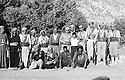 Iraq 1962 Before the battle of Kifri, in Qara dagh, standing 6th from left, Sheikh Mohamed Kasnazani