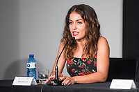 Hiba Abouk during press conference of presentation of short film of Gas Natural Fenosa during Sitges Film Festival in Barcelona, Spain October 05, 2017. (ALTERPHOTOS/Borja B.Hojas) /NortePhoto.com /NortePhoto.com