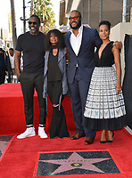 LOS ANGELES, CA. October 01, 2019: Idris Elba, Crystal Fox, Tyler Perry & Kerry Washington at the Hollywood Walk of Fame Star Ceremony honoring Tyler Perry.<br /> Pictures: Paul Smith/Featureflash