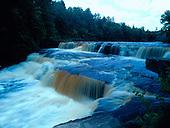 Lower Tahquamenon Falls, Tahquamenon River, Chippewa county, in Michigan's Upper Peninsula.