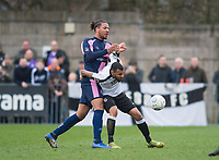 Action during the Vanarama National League South match between Dulwich Hamlets and Dartford at Champion Hill, London, England. on 2 March 2019. Photo by Andrew Aleksiejczuk / PRiME Media Images.