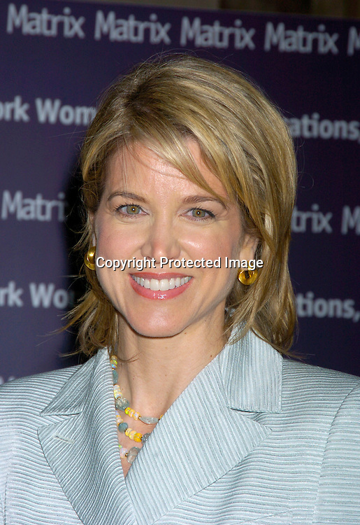 Paula Zahn ..at the New York Women in Communications 2004 Matrix ..Awards Luncheon on April 19, 2004 at the Waldorf Astoria ..Hotel. Photo by Robin Platzer, Twin Images