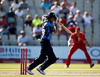 17th July 2021; Emirates Old Trafford, Manchester, Lancashire, England; T20 Vitality Blast Cricket, Lancashire Lightning versus Yorkshire Vikings; Joe Rootof Yorkshire Vikings
