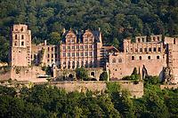 Europe/Allemagne/Bade-Würrtemberg/Heidelberg: le Château