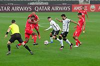São Paulo (SP), 16/05/2021 - CORINTHIANS-SPORT HUANCAYO PER - A Araos, do Corinthians. Corinthians e Sport Huancayo-PER, a partida é válida pela quinta rodada da fase de grupos da Copa Sul-Americana 2021, na Neo Quimica Arena, noite desta quinta-feira (20).